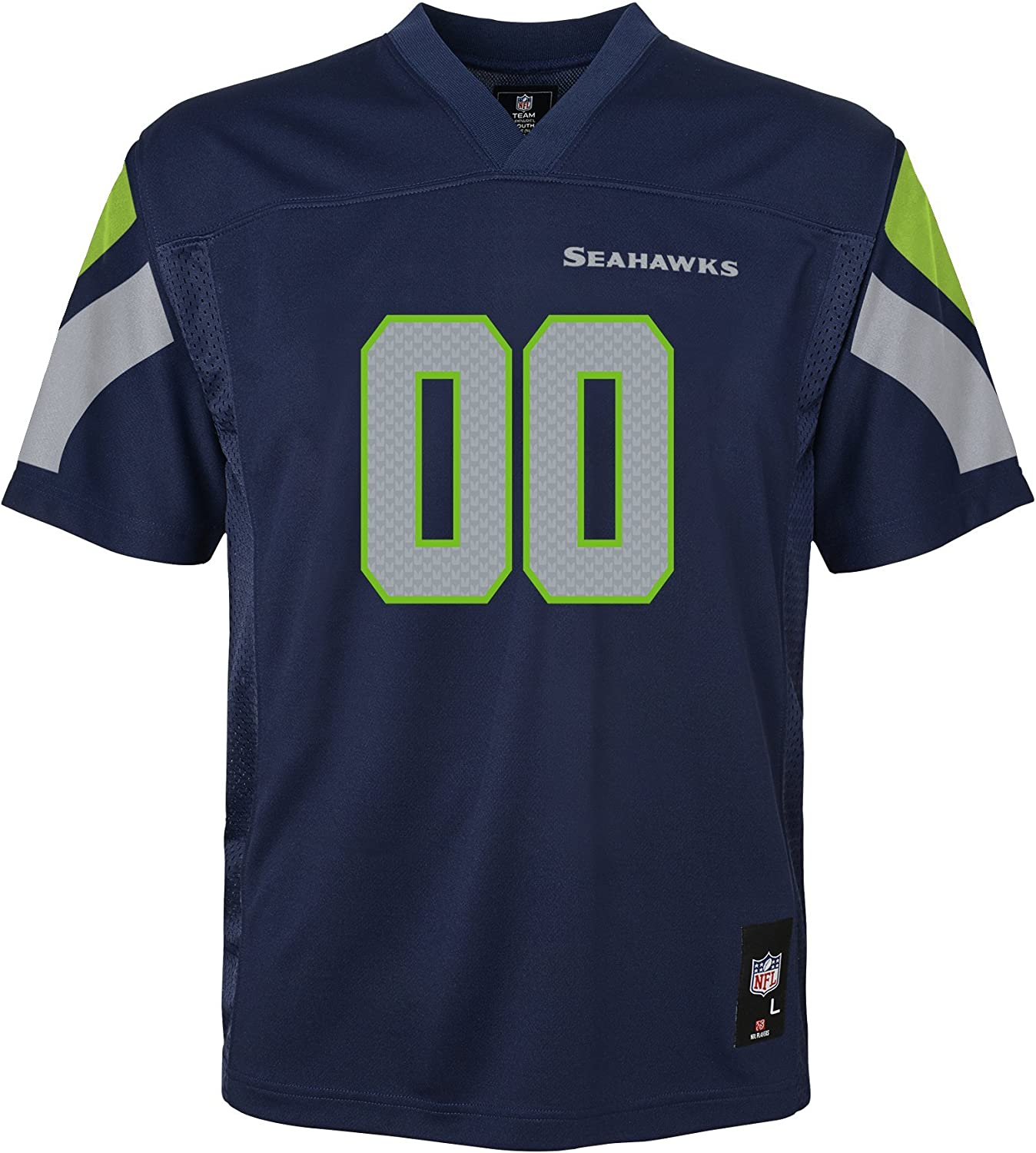 NFL Boys Kids & Youth Team color Fashion Jersey