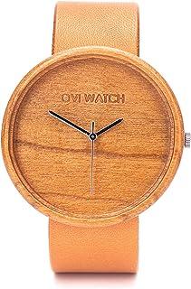 Relojes de Madera - Simple y elegante para los que aprecian los productos naturales y hechos a mano