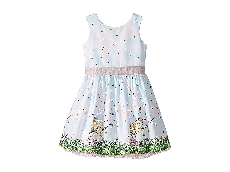 fiveloaves twofish Flower Girl Party Dress (Toddler/Little Kids/Big Kids) (White) Girl