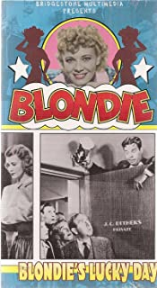 Blondie's Lucky Day VHS