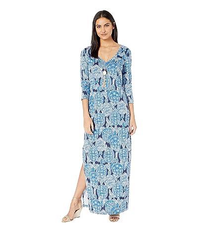 Lilly Pulitzer Anissa Maxi Dress (Deep Indigo Snap To It) Women