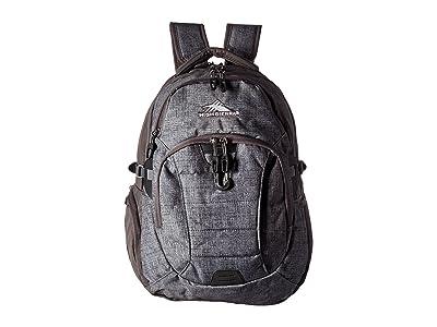 High Sierra Jarvis Backpack (Woolly Weave/Slate) Backpack Bags