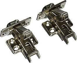 Emuca 1012607 Pack de 20 bisagras de cazoleta /Ø35mm 100/° para puerta arremetida y suplementos Euro con regulaci/ón exc/éntrica