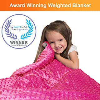 Supersoft 5 Lbs Calming Weighted Blanket for Kids - 36