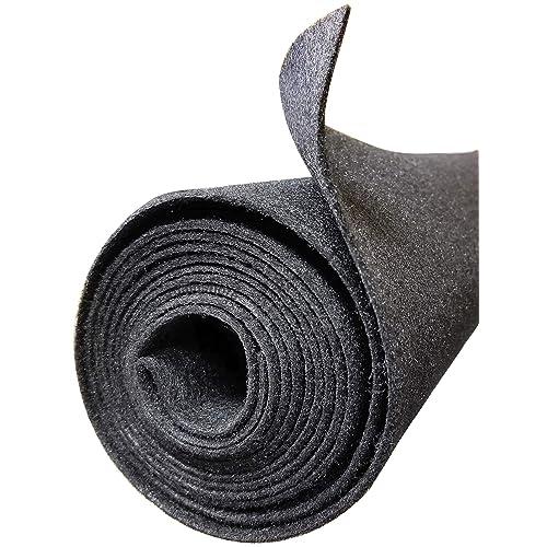 "20/""x6FT Black Speaker Box Subwoofer DJ Carpet Rug Trimming Carpeting Upholstery"