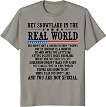 Hey Snowflake In The Real World T-shirt