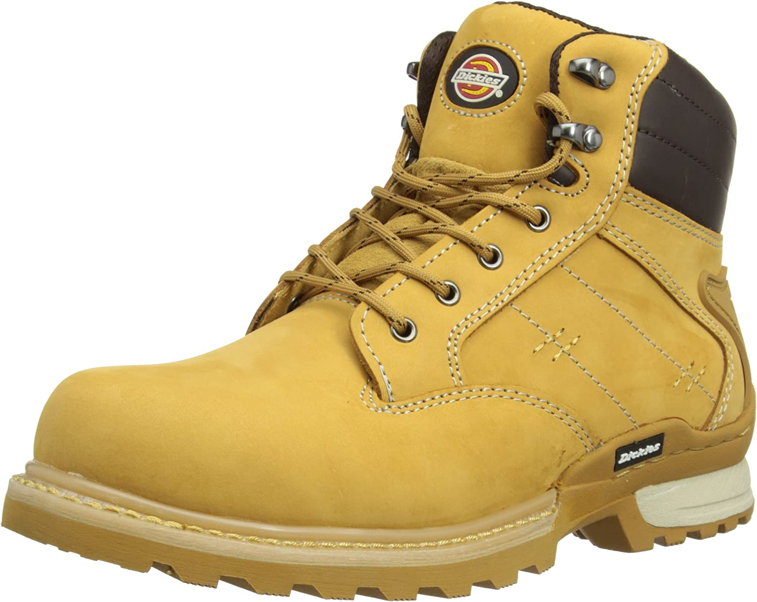 Dickies Canton Safety Boot Leather Steel Toe Work Workwear FD9209