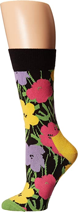 Andy Warhol Flower Sock