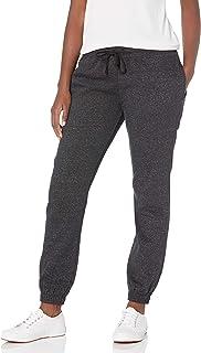 Cotton On Women's Jersey Track Pants, Medium, Black Marle