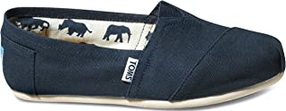 Toms Women's Canvas Classic Slip-on Shoes Black