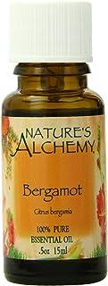 Nature's Alchemy 100% Pure Essential Oil Bergamot, 0.5 Fluid Ounce