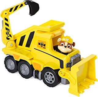 Paw Patrol Ultimate Rescue, Rubble's Ultimate Rescue Bulldozer with Moving Scoop and Lift-up Dump Bed, for Ages 3 and Up
