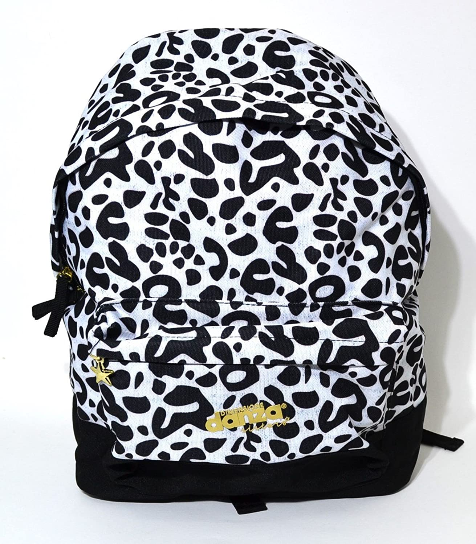 Backpack American Dimension Dance Fantasy Leopard White