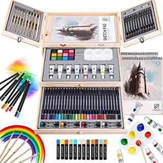 Art Supplies, 84 Piece Deluxe Art Set, Painting Supplies for Painting & Drawing, Professional Art Kits for Adults, Teens a...