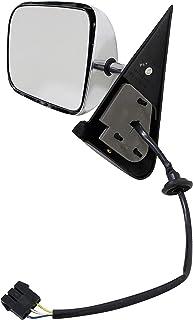 Dorman 955-248 Driver Side Power Door Mirror - Folding for Select Dodge Models, Chrome