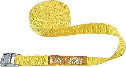 Connex Sjorband, eendelig, 5 m x 25 mm, maximale belastbaarheid 250 kg, met klemslot, zonder haken, van polypropyleen, spa...