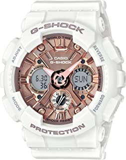 Women's G Shock Stainless Steel Quartz Watch with Resin...