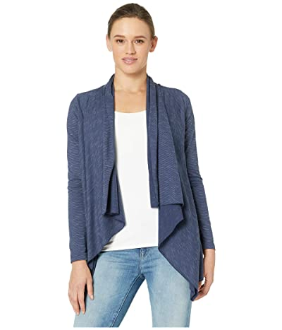 manduka Breathe Drape Cardigan (Indigo) Women