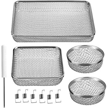 Halotronics RV Refrigerator//Furnace Vent Covers//Bug Screens for Duo-Therm and Suburban Pack of 2