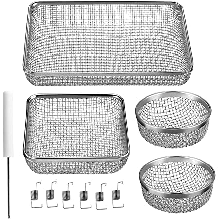 Stainless Steel Mesh with Installation Tool RV Furnace Screen for RV Water Heater Vent Cover