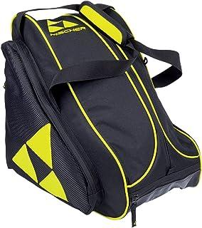 fischer Skibootbag, Schwarz/Gelb Alpine Race-Bolsa para Botas de esquí, Color Negro y Amarillo, Unisex-Adultos, Talla única