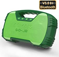 Portable Bluetooth Speakers V5.0, Waterproof Wireless Home Party Speaker, 25W Rich Bass Impressive Sound, 15 Hrs Playtime & Wireless Stereo Pairing, Built-in Mic, Durable for Indoor, Outdoor - Green