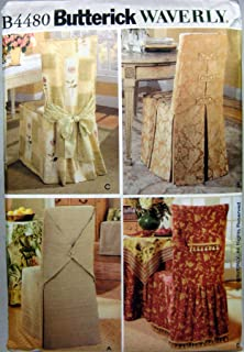 Butterick Sewing Pattern B4480 Chair Covers In Four Styles