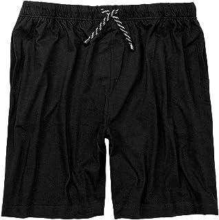 ADAMO Pyjama Bottoms Short XXL/56 to 10XL/88 Black or Blue - Black - XXXXXXXXXXL
