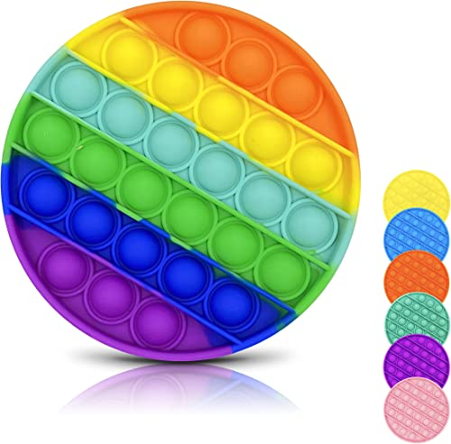 DONSFIELD Pop It Fidget Toy for All – Fun Pop it Bubble Sensory Fidget Toys for Kids and Adults – Pop It Stress Relie...