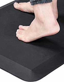 Anti Fatigue Standing Desk Pad - Comfort Floor Mat for Kitchens, Standing Desks and Garages, Relieves Foot, Knee, and Back...