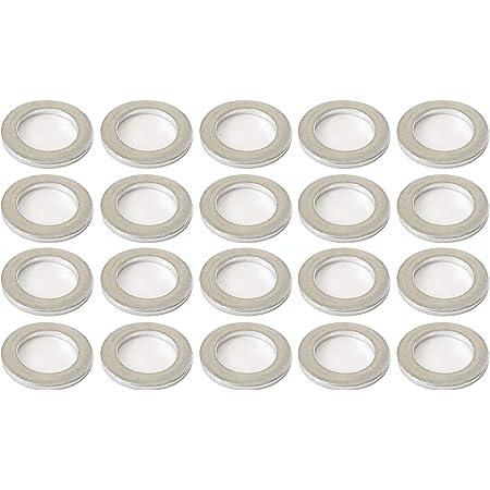 50 Aluminum Engine Oil Drain Plug Washer Gaskets For Honda Part# 94109-140-00