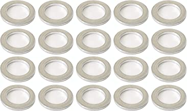 Prime Ave Aluminum Oil Drain Plug Washer Gaskets 14mm For Acura & Honda Part# 94109-140-00 (Pack of 20)