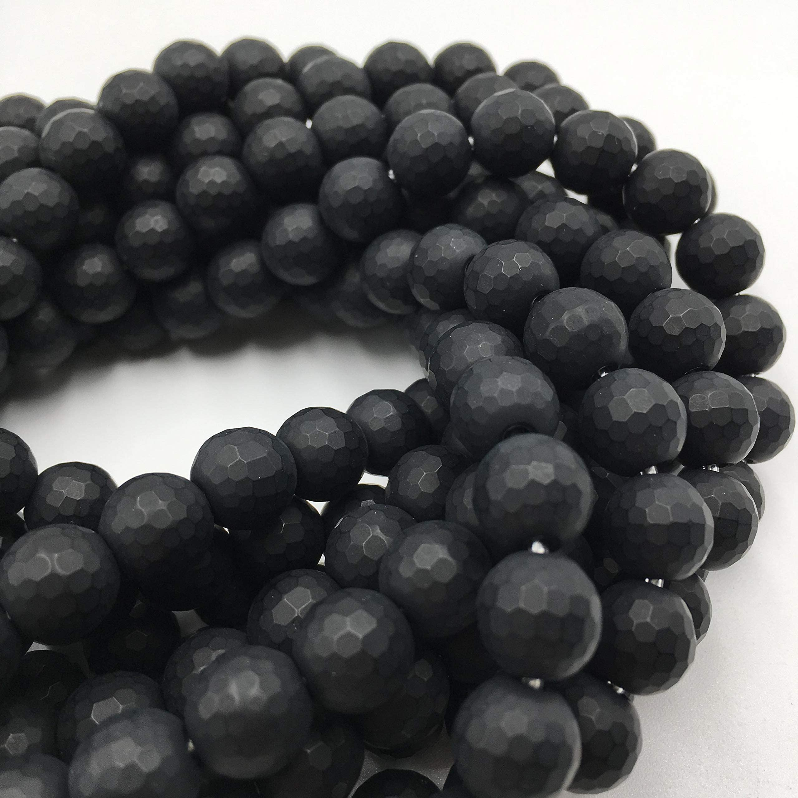 Details about  /Wholesale Lot Of 8x10mm Oval Faceted Cut AAA Natural Black Onyx  Loose Gemstone