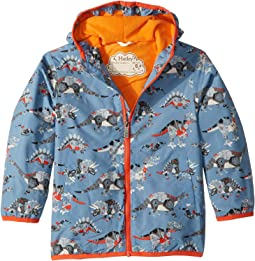 Robotic Dinos Microfiber Rain Jacket (Toddler/Little Kids/Big Kids)