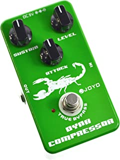 JOYO JF-10 Dynamic Compressor Pedal with Very Low Noise...