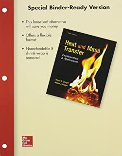 Package: Loose Leaf for Heat and Mass Transfer: Funamentals & Applications with 1 Semester Connect Access Card