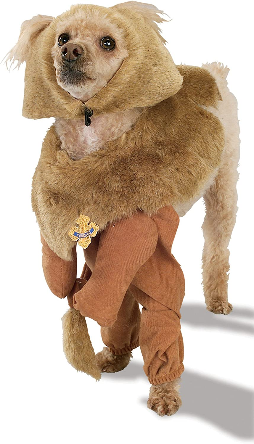 Rubies Costume Wizard of Oz Cowardly Lion Pet Costume, Extra Large