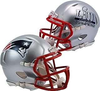 patriots super bowl mini helmet