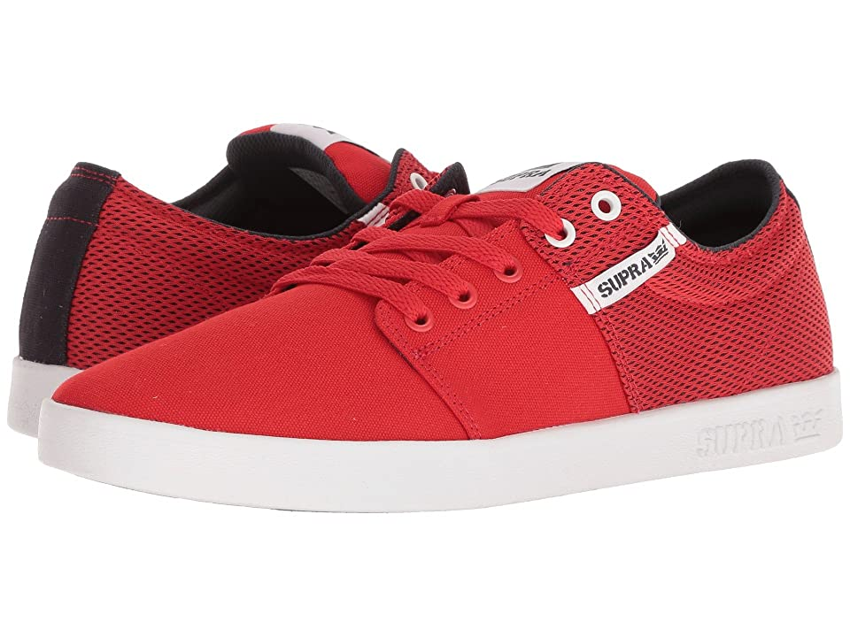 Supra Stacks II (Risk Red/Navy/White) Men