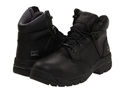 Timberland PRO Helix 6 Waterproof Composite Toe (Black) Men