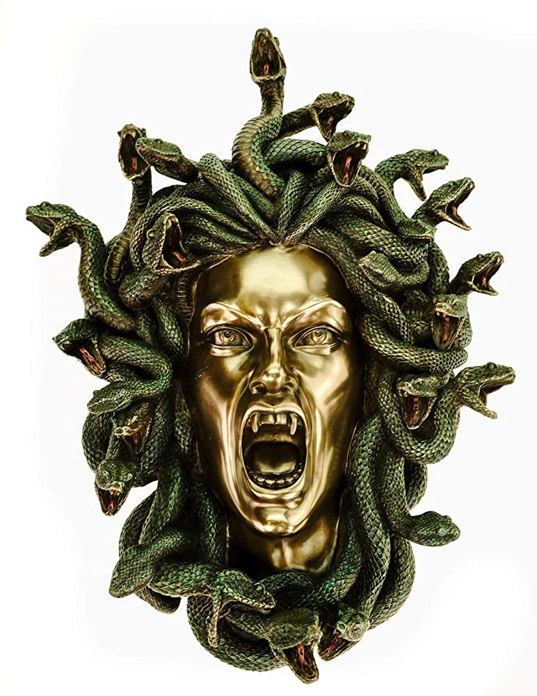 Veronese - decorazione da parete a forma di testa di medusa