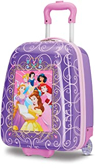 American Tourister Kids' Disney Hardside Upright Luggage, Princess 2, Carry-On 16-Inch