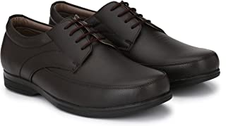Andrew Scott Men's Brown Leather Formal Shoes-10 UK/India (43 EU) (4007Brown_10)