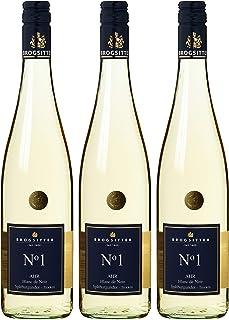 Weinkellerei Brogsitter Spätburgunder Blanc de Noir N grad 1 Trocken 3 x 0.75 l