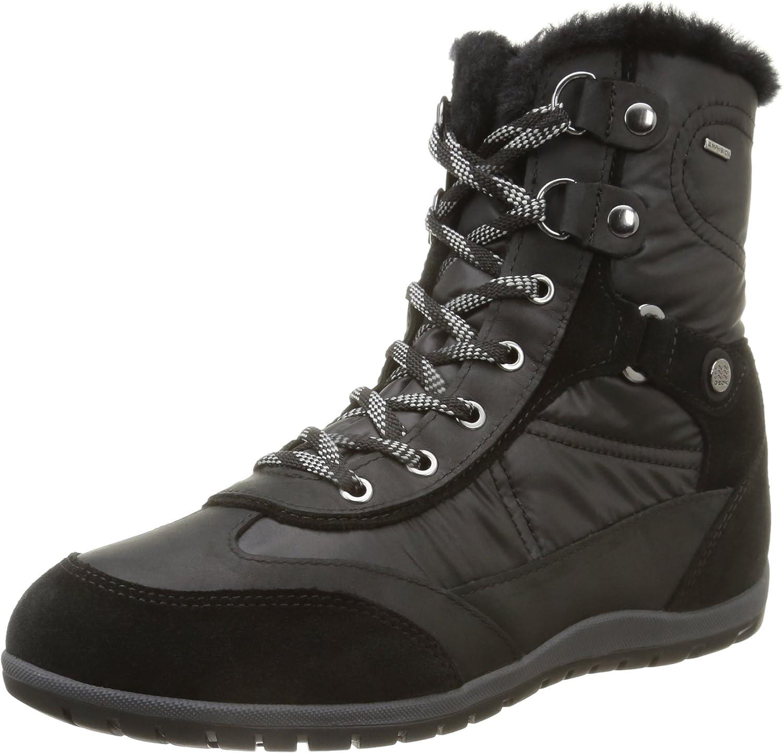 Geox Geox Geox Woherrar D ny Vega B Amphibiox Ankle Boot (10, svart)  hitta din favorit här