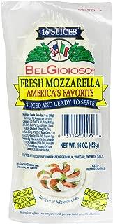 BelGioioso, Fresh Mozzarella, Sliced, 16 oz
