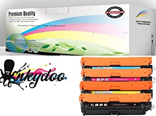 InkyDoo Compatible Toner Cartridge Replacement for HP M551 ( Black, Cyan, Magenta, Yellow , 4-Pack )