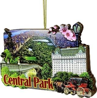 City-Souvenirs 3D Central Park Ornament