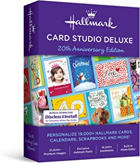 Hallmark Card Studio Deluxe 2019 - Old Version