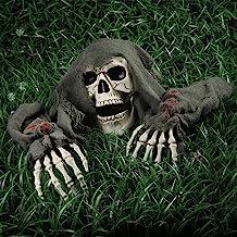 outdoor halloween corpse decoration